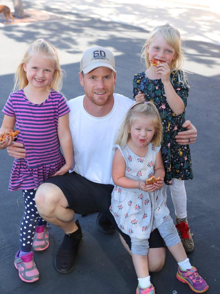 Kaitlyn, Jeff, Hailey, and Abby Laberge