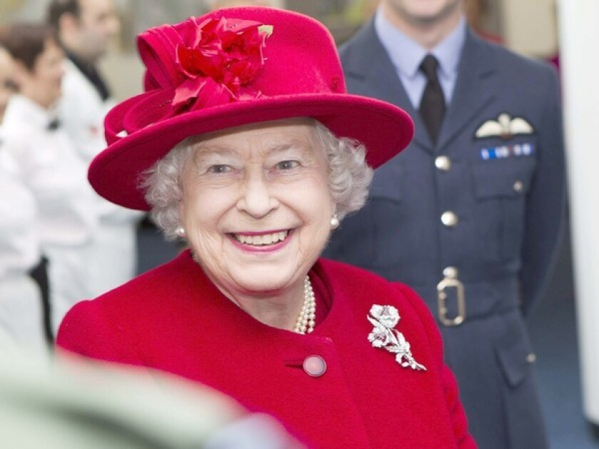 Queen Elizabeth II in 2011