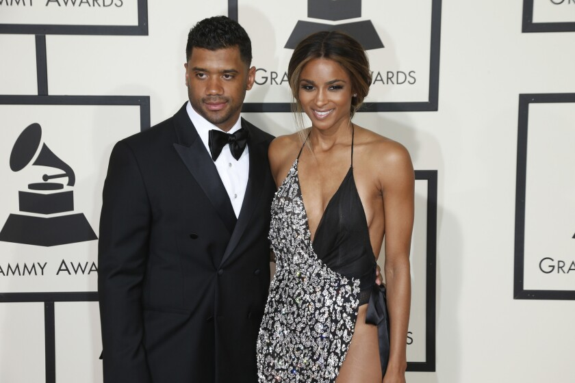 NFL quarterback Russell Wilson and singer Ciara are engaged.