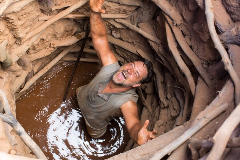 """Russell Crowe stars as Joshua Connor in """"The Water Diviner,"""" which holds a spot at the Newport Beach Film Festival."""