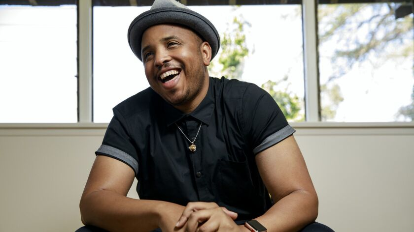 "Justin Simien is the creator and showrunner of Netflix's TV adaptation of ""Dear White People,"" which is based on his 2014 indie film of the same name."