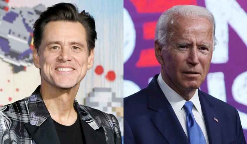 Jim Carrey se meterá en la piel del candidato demócrata Joe Biden.