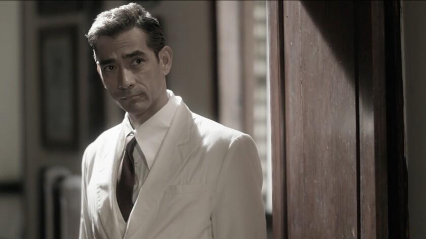 Raymond Bagatsing in the movie 'Quezon's Game'