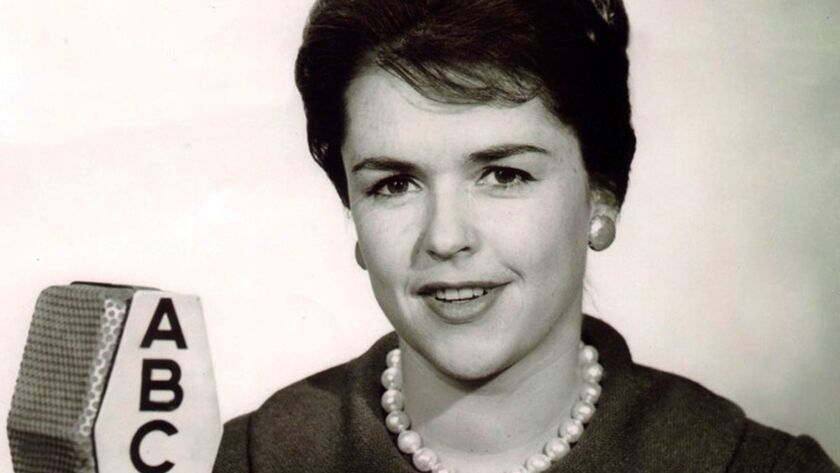 This 1967 photo made available by ABC News shows television producer, Anne Morrissy Merick, who foug