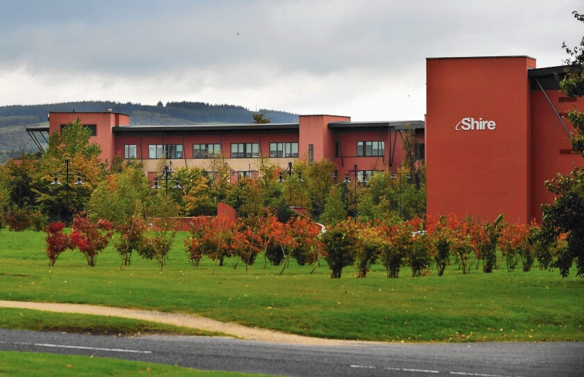 Shire offices in Ireland