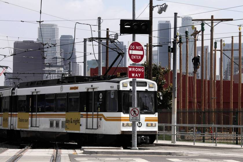 Fix for flawed light-rail junction in downtown L.A. is outlined