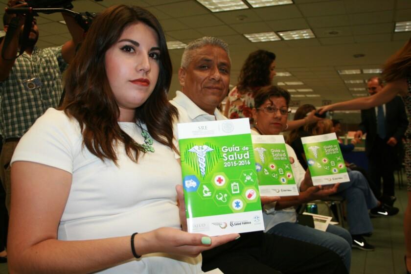 En la nueva guía de salud los migrantes pueden conocer cómo registrarse al programa My Health L.A., el cual ha inscrito a 115,000 personas desde que inició a operar el 1 de octubre de 2014.