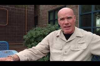 Retired California National Guard Master Sgt. Bill McLain