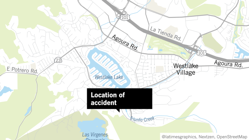 site of accident
