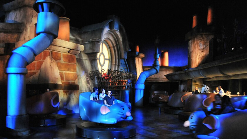 Ratatouille: Remy's Totally Zany Adventure at Disneyland Paris
