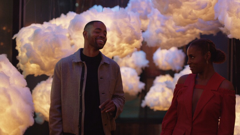 """Jay Ellis and Issa Rae in HBO's """"Insecure."""""""