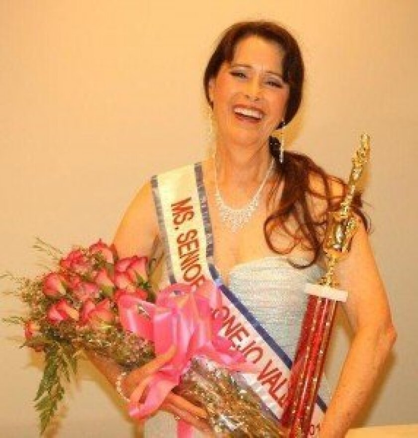 Wendy Hill recently was named Ms. Senior Conejo Valley at the pageant held in Thousand Oaks last month. Courtesy photo