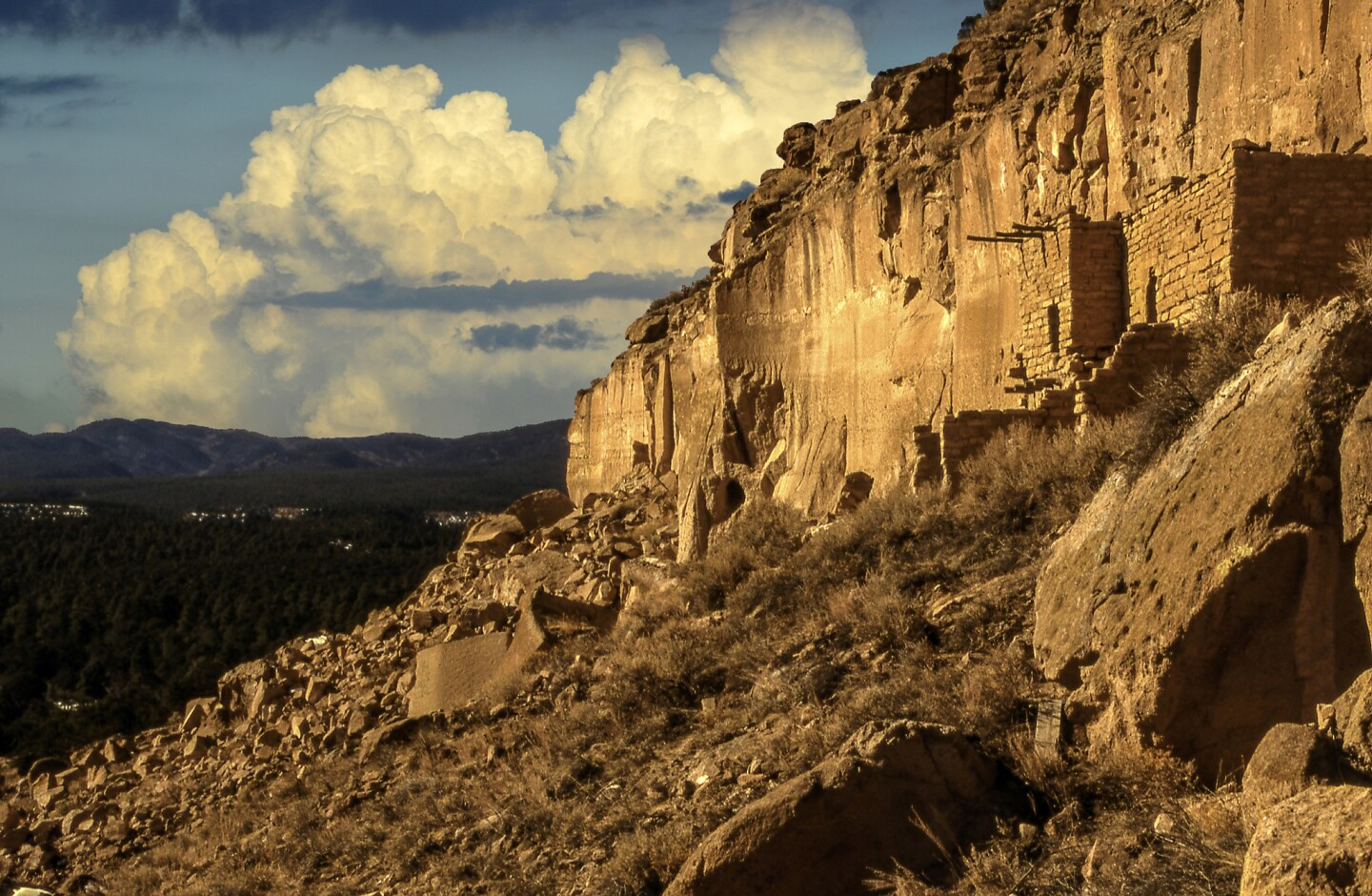 A look at the Puye Cliffs.