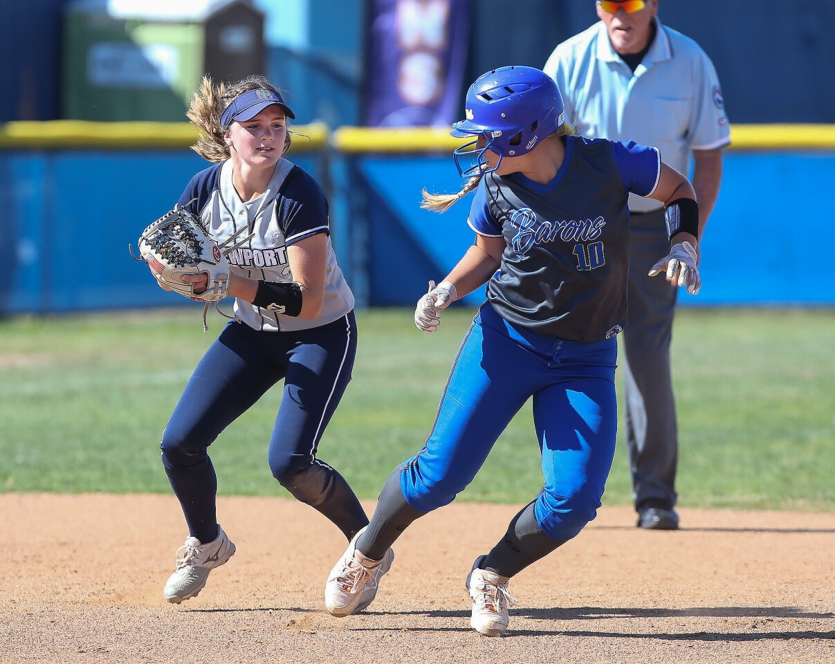 Photo Gallery: Newport Harbor vs. Fountain Valley in softball