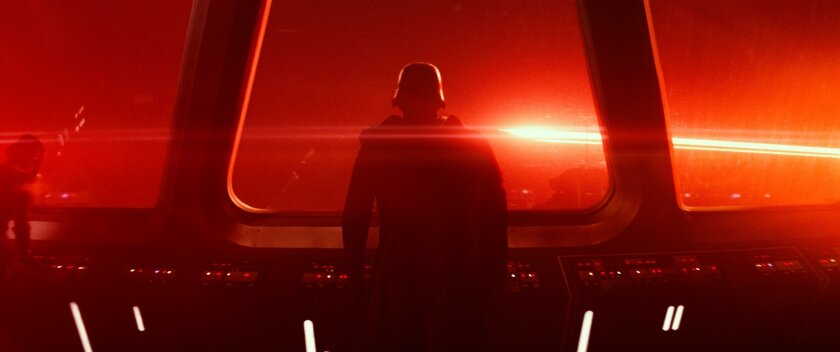 "This photo provided by Disney/Lucasfilm shows a scene from the new film, ""Star Wars: The Force Awakens."" The film is still playing in more than 2,000 theaters in North America and remains ranked in the top-five at the box office as it enters its ninth week of release. (Film Frame/Disney/Lucasfilm v"