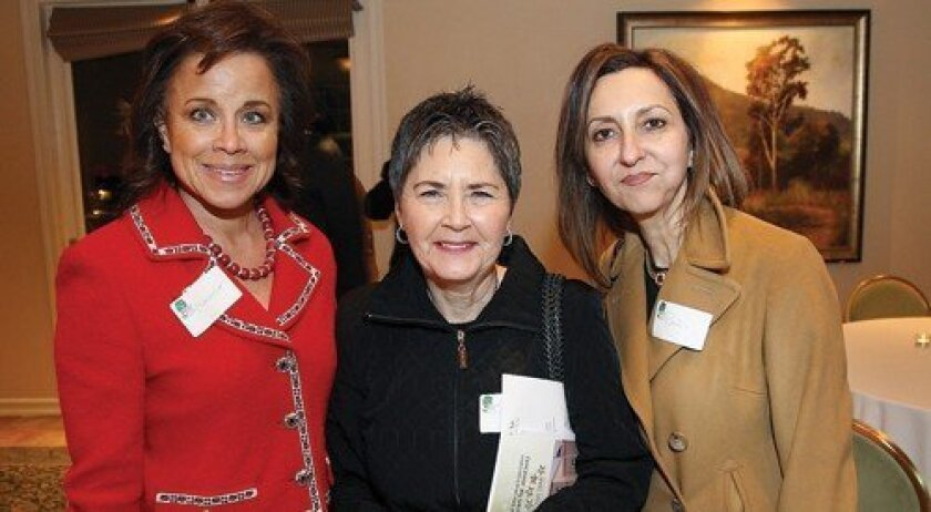 Machele Richardson, Bonnie Steinberg, Pari Diatabari (Photo: Jon Clark)
