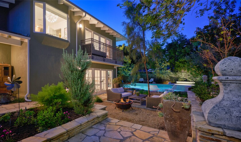 Ted Humphrey's Beverly Hills home