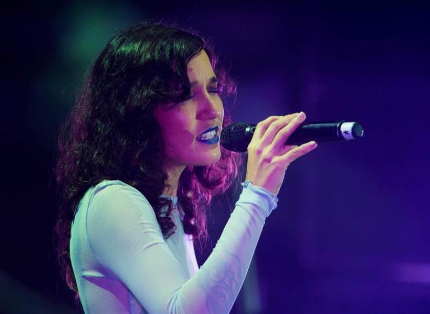 """Fotografía de la cantante puertorriqueña Ileana Cabra """"Ile"""". EFE/Archivo"""