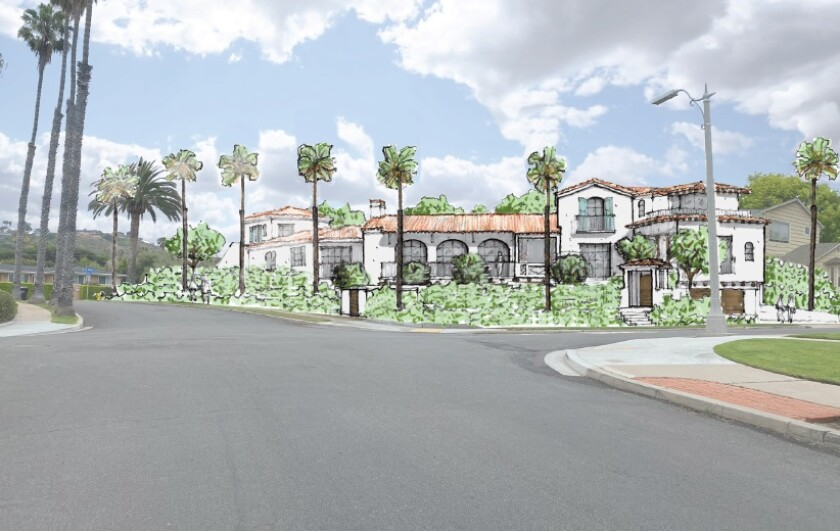 La Jolla's DPR Committee approved a lot tie and construction of a house across 6375 Avenida Cresta and 6360 Via Maria.