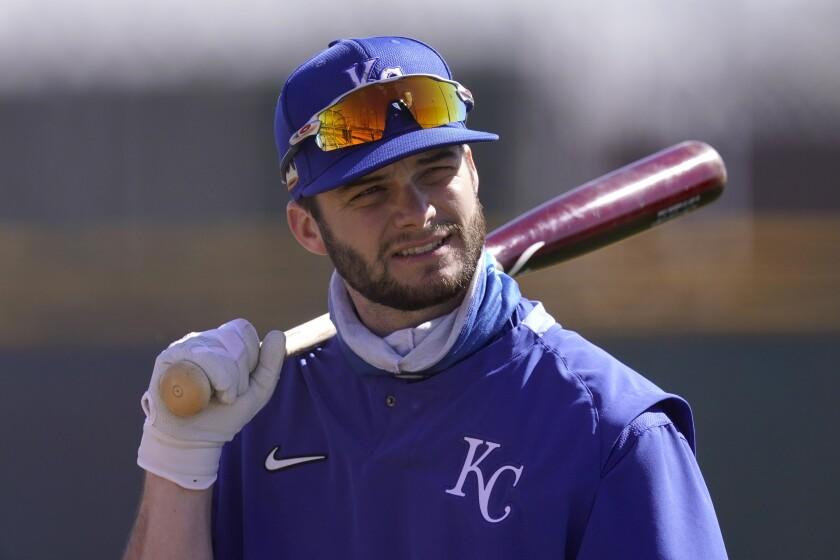 Kansas City Royals' Andrew Benintendi