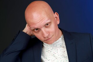 EL SEGUNDO, CA., APRIL 24, 2019 —Anthony Carrigan is known for playing Victor Zsasz in the FOX series GOTHAMband Tyler Davies in The Forgotten. He currently plays NoHo Hank in the HBO series BARRY. (Kirk McKoy / Los Angeles Times)