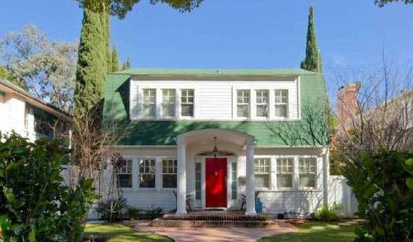 """The Hollywood house immortalized in the 1984 horror classic """"Nightmare on Elm Street"""" did not scare buyers away. It sold for the asking price of $2.1 million."""