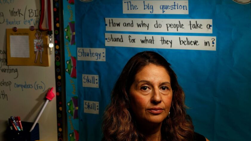 Ingrid Villeda teaches fifth grade at  93rd Street Elementary School in South Los Angeles.