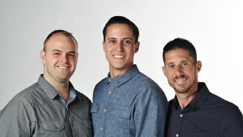 Matthew Cecil, Cody Barbo and Vincent Di Nino, left to right, are co-Founders of Industry. (Rick Nocon)