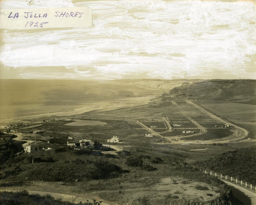 La Jolla Shores is pictured in 1925.