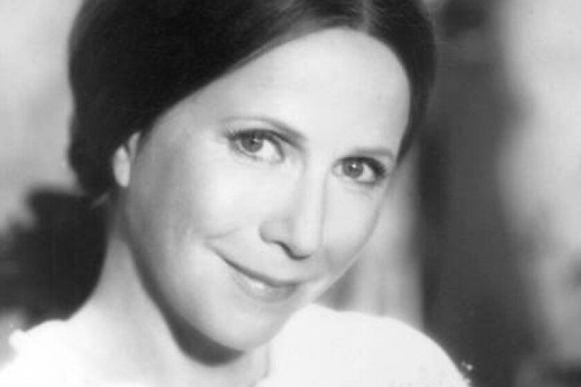 """Julie Harris as Emily Dickinson in """"The Belle of Amherst"""" in 1976)."""