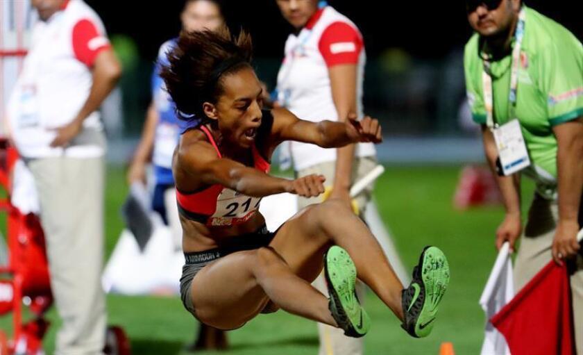 La atleta panameña Nathalee Aranda. EFE/Archivo