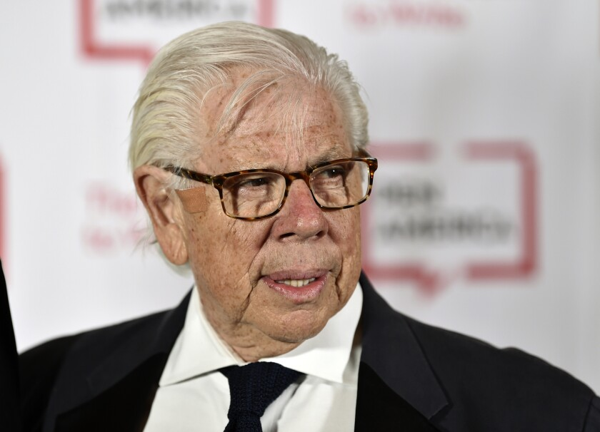 Journalist Carl Bernstein of Watergate investigation fame