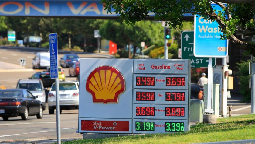 Gas Prices San Diego >> Hurricane Harvey Affecting Gasoline Prices In California Too The