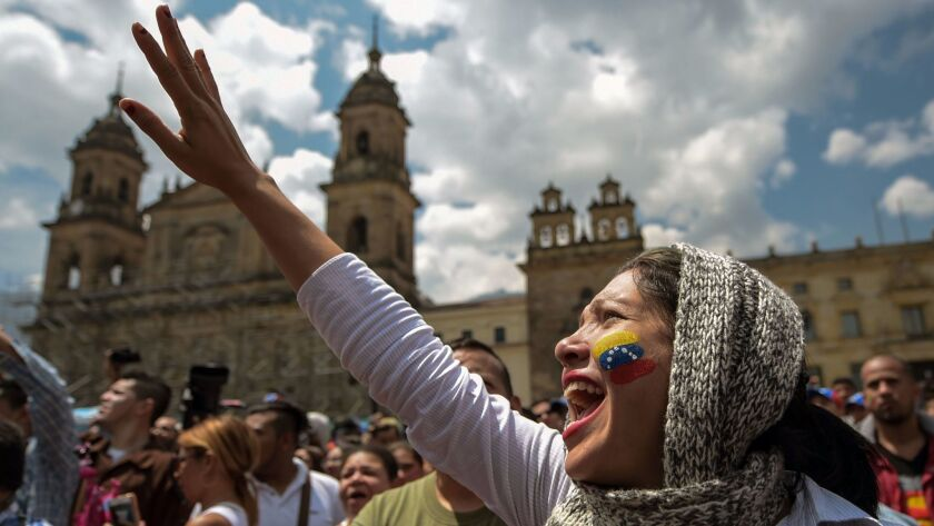 COLOMBIA-VENEZUELA-CRISIS-OPPOSITION-VOTE