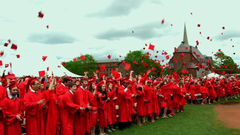 Wesleyan University's 2013 graduation