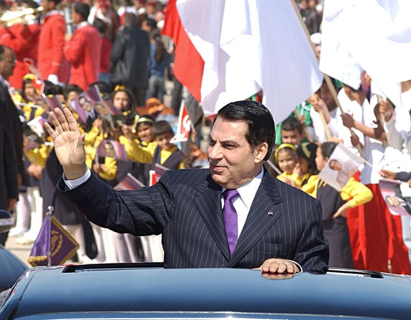 Zine el Abidine ben Ali, Tunisian ruler whose fall led to Arab Spring, dies at 83