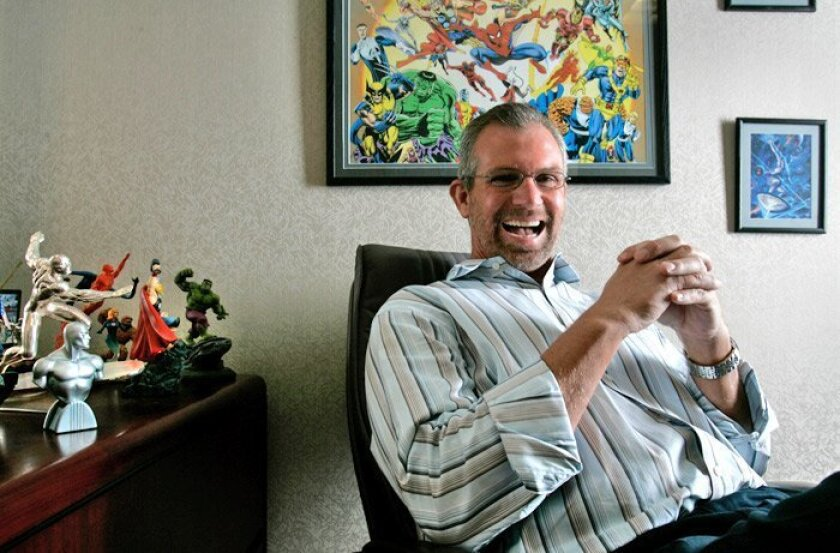 John Walsh is president of DataQuick, a firm whose employees collect, vet and disseminate the sales and pricing information that industry experts use to analyze where the housing market stands and where it may be headed. He's also a fan of Marvel Comics.