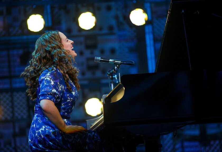 Abby Mueller stars in 'Beautiful: The Carole King Musical' at San Diego Civic Theatre, Aug. 2-7, 2016.