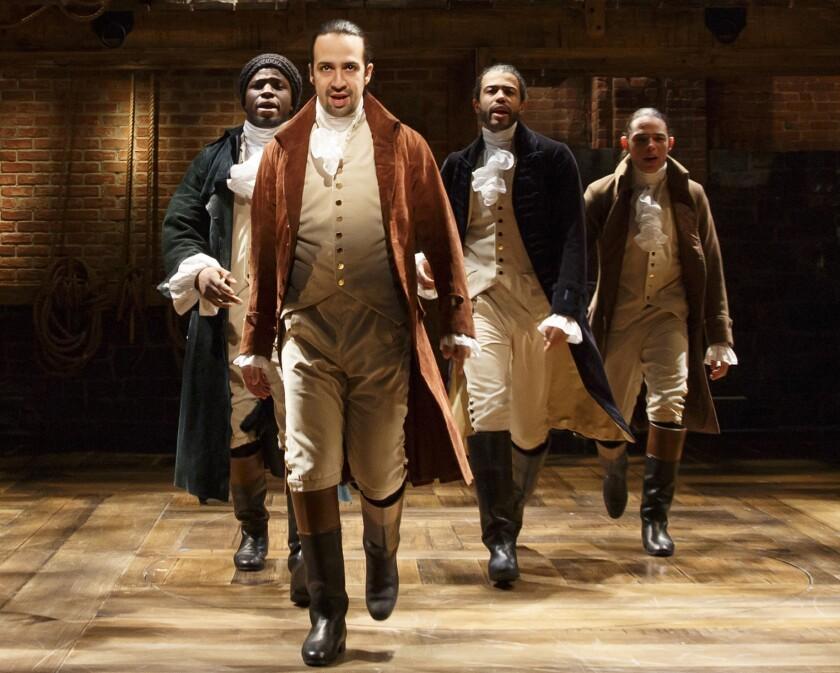 'Hamilton' and the Tony Awards