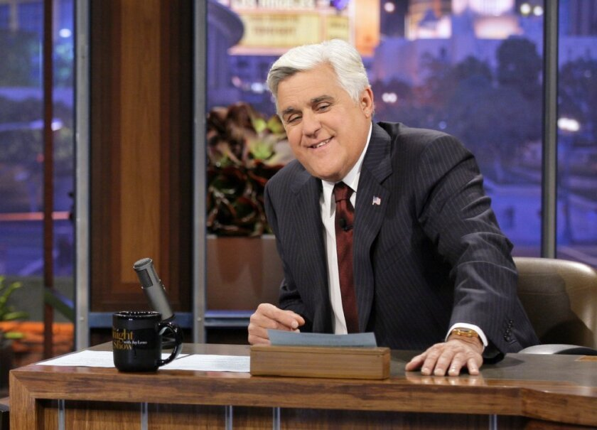 """Jay Leno is already being wooed for work after he leaves NBC's """"Tonight Show."""""""