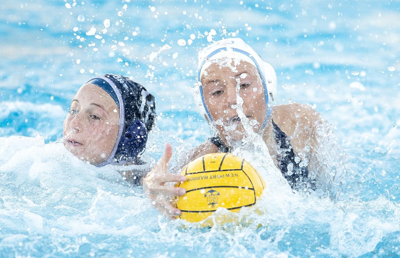 Photo Gallery: Newport Harbor vs. Corona del Mar in girls' water polo