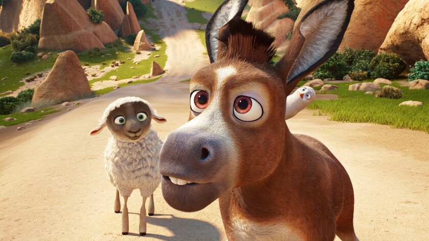 (L-R) - Ruth (Aidy Bryant), Bo (Steven Yeun) an Dave (Keegan-Michael Key) in Sony Pictures Animation