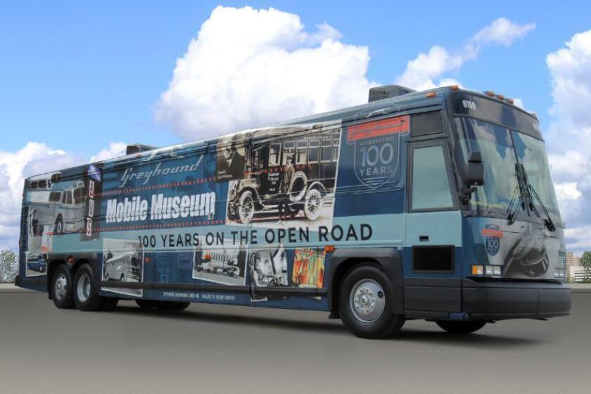 Greyhound Mobile Museum