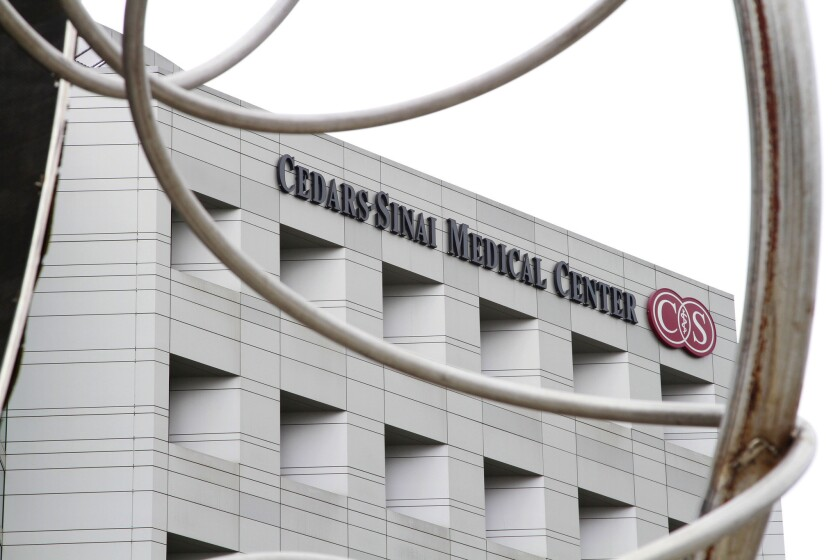 Six people fired from Cedars-Sinai over patient privacy