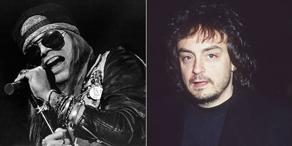 """Upset by negative press from certain music critics, Rose penned the song """"Get in the Ring,"""" which appeared on the group's 1991 album """"Use Your Illusion II."""" In the song, Rose challenged several people to fight by name, including Bob Guccione Jr., publisher of Spin magazine. Though the others, at Hit Parader and Kerrang were only listed, Guccione was taunted by Rose, comparing him (unfavorably) to his father, Bob Guccione, the founder of the adult magazine Penthouse. Rose's actual taunt is unprintable here, but Guccione Jr. did respond with a letter accepting Rose's challenge. He told the Miami Herald years later, """"He didn't know that I studied full-contact karate for 10 years. . . . He wimped out."""" An earlier version of this caption incorrectly said the album was """"Use Your Illusion I."""""""