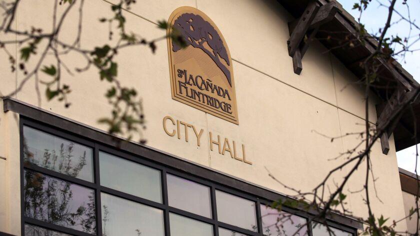 The New La Ca?ada Flintridge City Hall pictured during the City of La Ca?ada Flintridge City Hall De