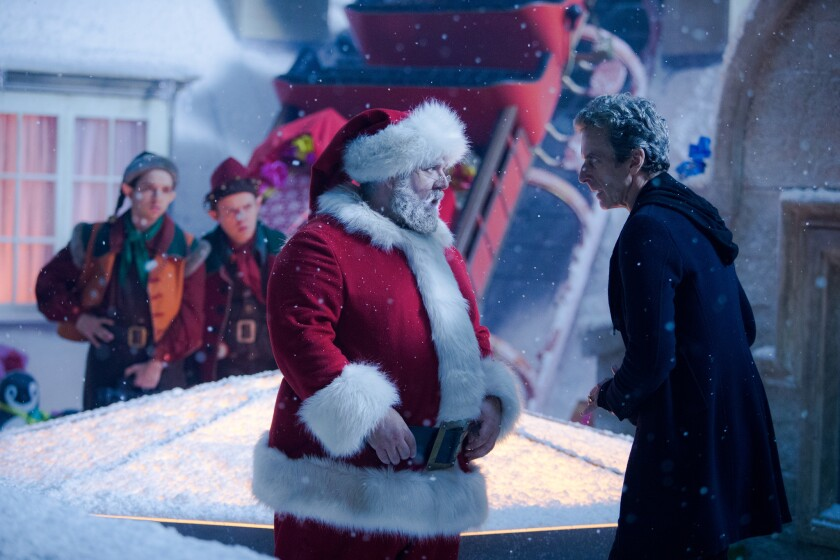 Last Christmas Doctor Who.Review The Doctor Spars With St Nick In Doctor Who Last