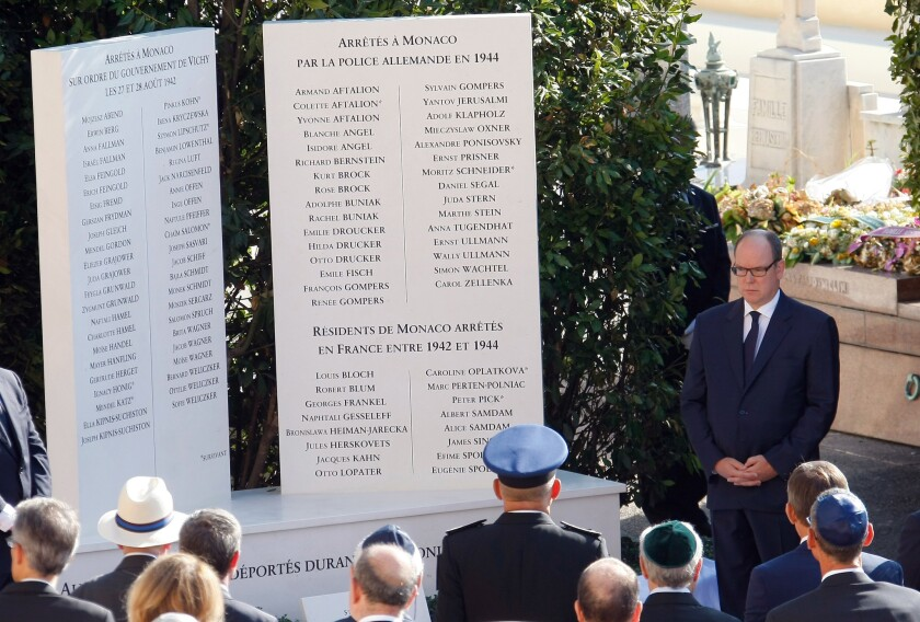 Monaco Holocaust