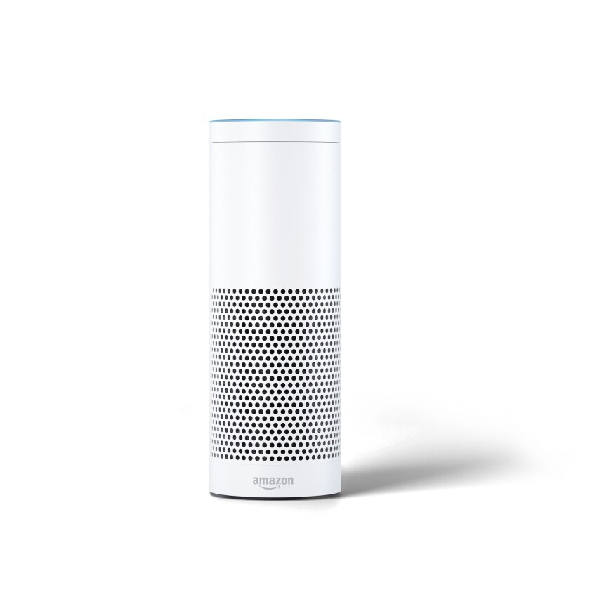 Echo, the latest voice-activated technology from Amazon, is being installed in all guest rooms at Wynn and Encore later this month.