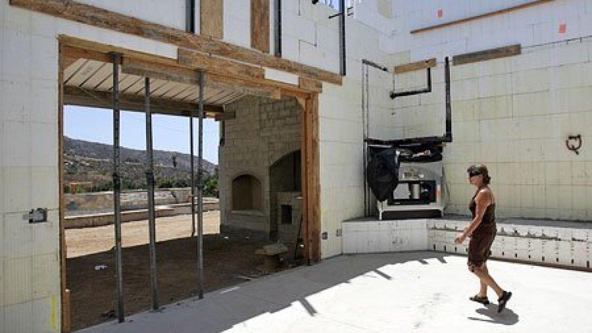 Plans cast in concrete - The San Diego Union-Tribune